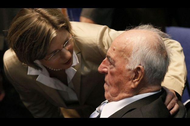 Maike Kohl-Richter et Helmut Kohl.