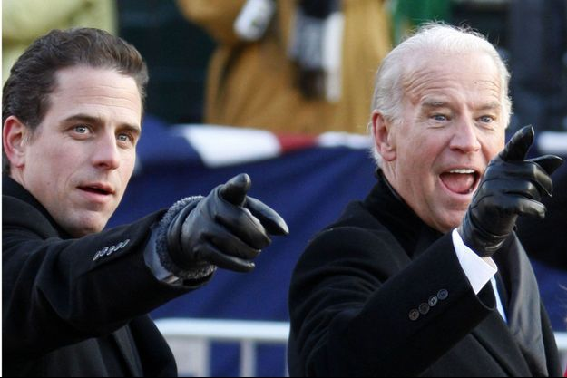 Hunter et Joe Biden en 2009.