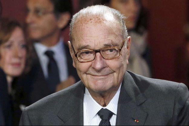 Jacques Chirac en novembre 2014.