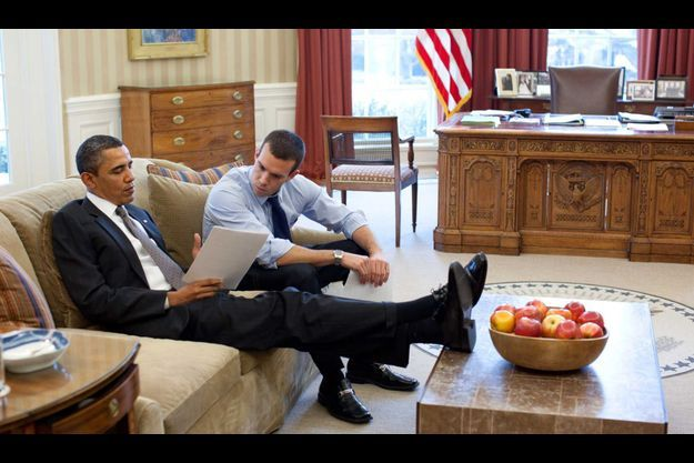 Jon Favreau, qui travaille avec Obama depuis huit ans, est devenu un intime du président.