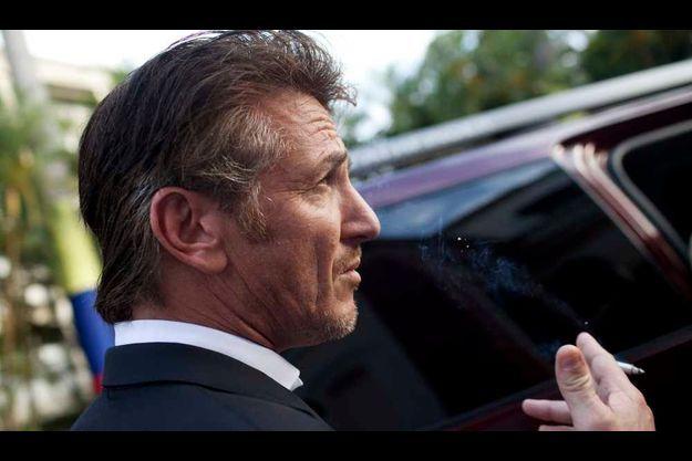 Sean Penn à Caracas en mars dernier.