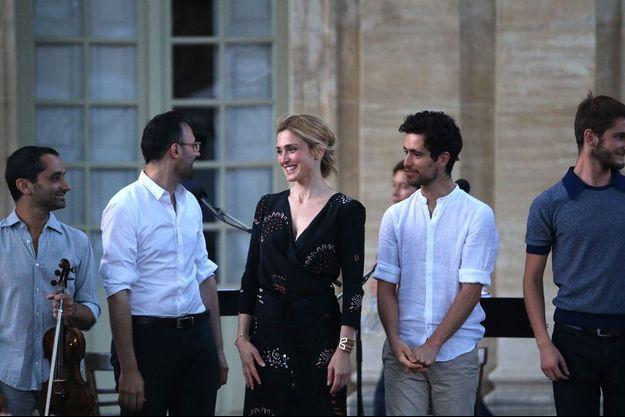Julie Gayet à Avignon, le 18 juillet 2015.