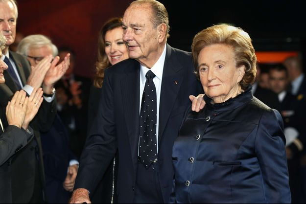 Jacques et Bernadette Chirac en 2013.