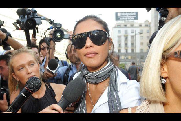 Fadil Imane, 26 ans, a assisté aux soirées très spéciales données par Silvio Berlusconi.