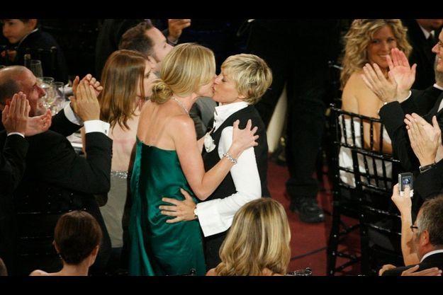 Ellen Degeneres et sa femme, l'actrice Portia de Rossi.