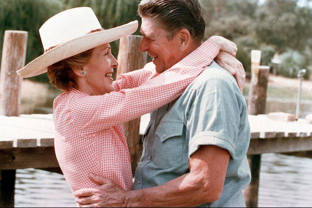 Le couple Reagan au temps du bonheur.