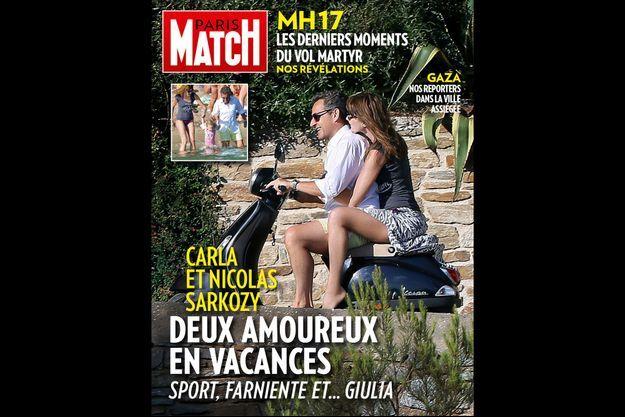 La couverture de Paris Match numéro 3401.
