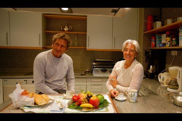 Bercy, 12 juin 2010. Ce week-end là, comme souvent, Xavier est venu de Marseille pour retrouver Christine Lagarde.