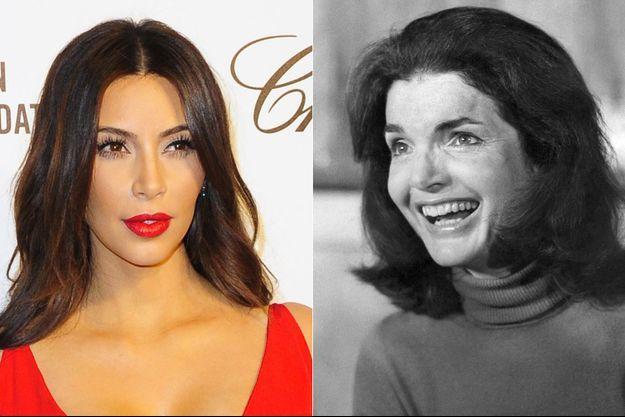 Kim Kardashian et Jackie Kennedy.
