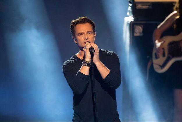David Hallyday aux NRJ Music Awards, novembre 2018