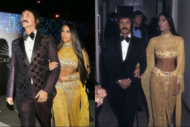 Kim Kardashian se met dans la peau de Cher pour Halloween.