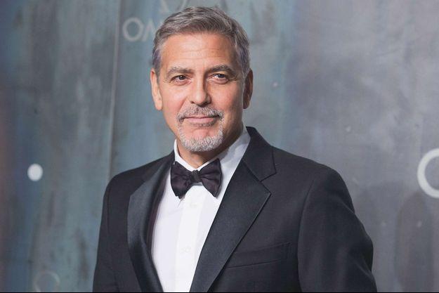 George Clooney en avril 2016.