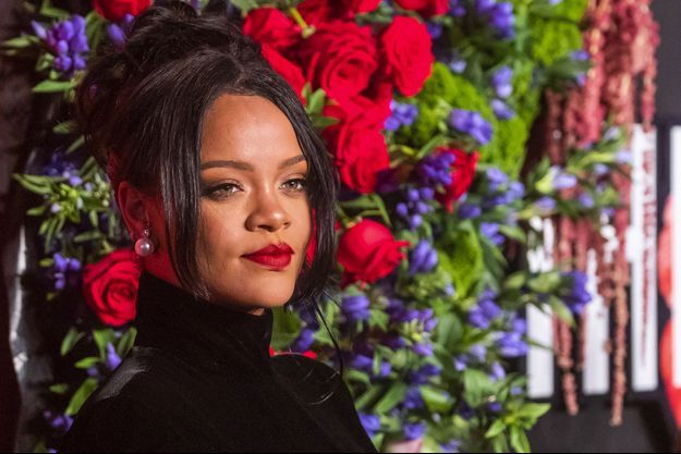 Rihanna lors de la soirée de son gala Diamond Ball à New York le 12 septembre 2019.
