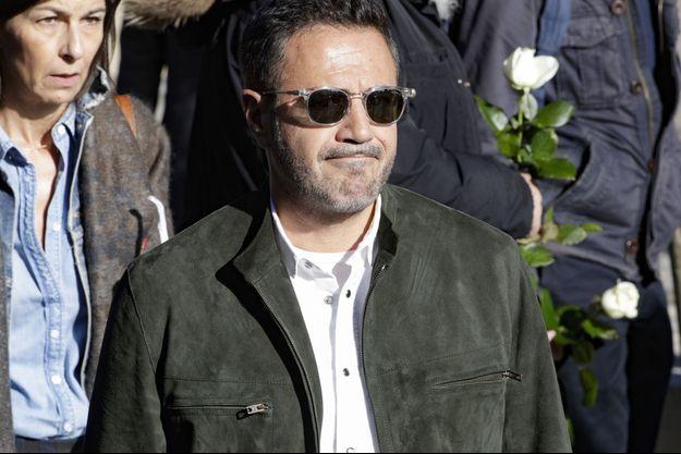 José Garcia aux obsèques de Philippe Gildas, lundi 5 novembre.