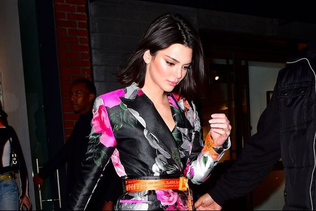 Kendall Jenner à la soirée Jimmy Choo et Off-White, le 11 février 2018 à New York