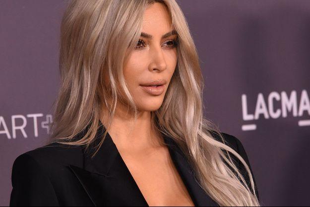 Kim Kardashian en novembre 2017.