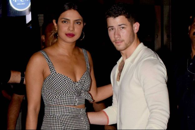 Priyanka Chopra et Nick Jonas à Bombay le 22 juin 2018