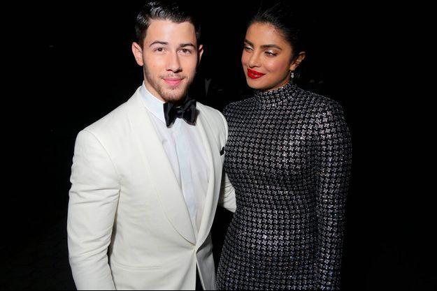 Nick Jonas et Priyanka Chopra en septembre 2018