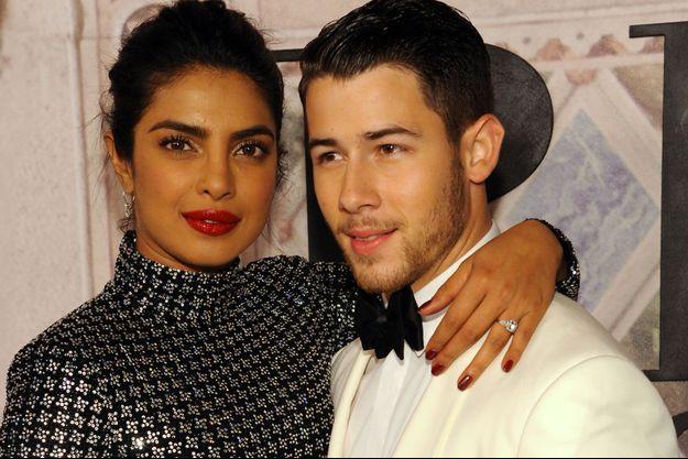 Priyanka Chopra et Nick Jonas le 7 septembre dernier à New York.