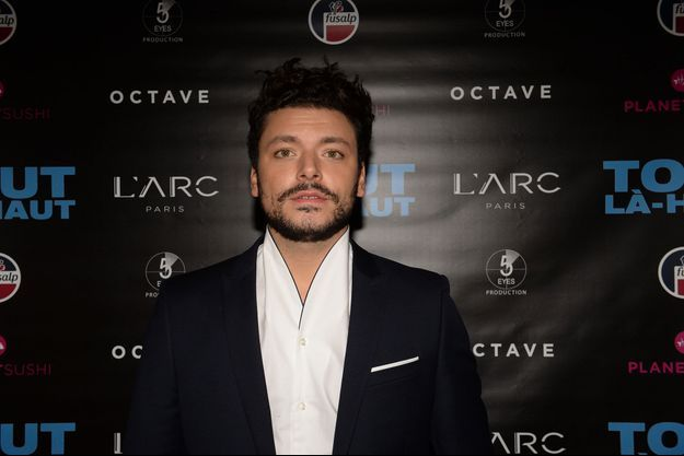 Kev Adams à Paris le 7 décembre 2017.