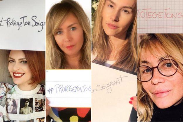 Elodie Frégé, Enora Malagré, Vanessa Demouy et Emmanuelle Béart mobilisées pour #ProtègeTonSoignant