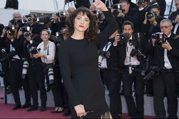 Asia Argento au festival de Cannes 2018.