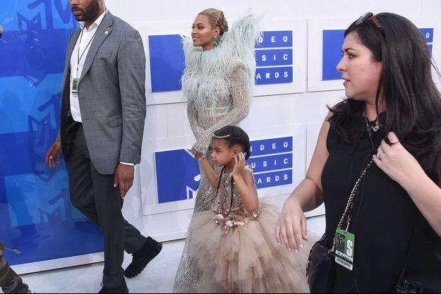 Beyoncé et Blue Ivy en août 2016.