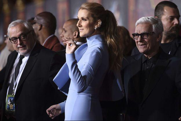 Céline Dion à Los Angeles, le 3 mars 2017.