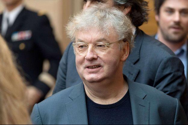 Dominique Besnehard en 2017.