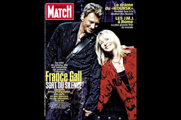 La couverture du numéro de Paris Match du 31 août 2000.