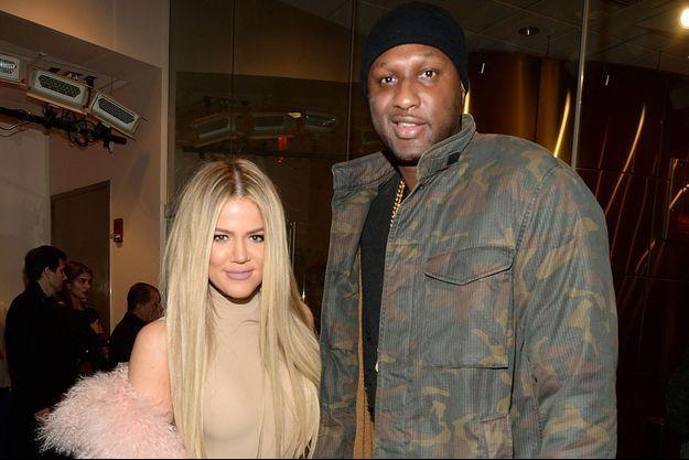 Khloé Kardashian et Lamar Odom en 2016. Le couple était déjà séparé depuis deux ans et demi.