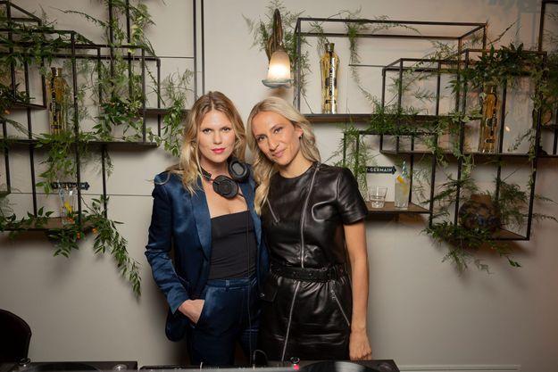 Alexandra Richards et Lola Burstein-Rykiel