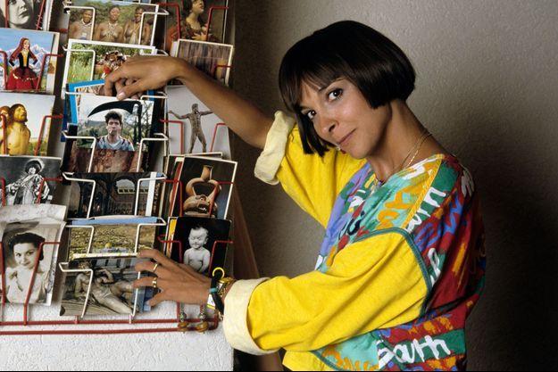 Ariane chez elle en juillet 1988.