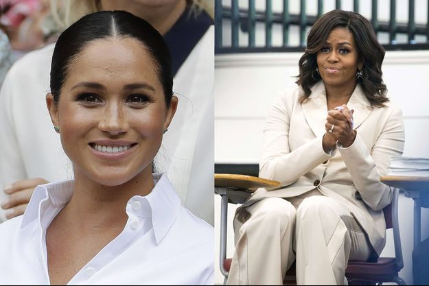 Meghan Markle et Michelle Obama