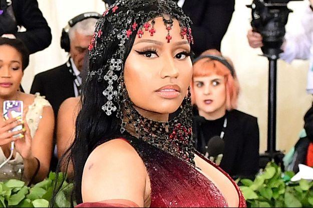 Nicki Minaj au Met Gala 2018.