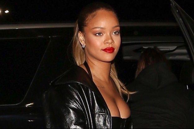Rihanna lors du concert de Jay Z, en Californie, le 21 décembre 2017.