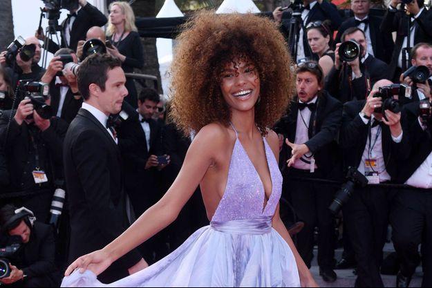 Tina Kunakey au festival de Cannes, en mai 2017.