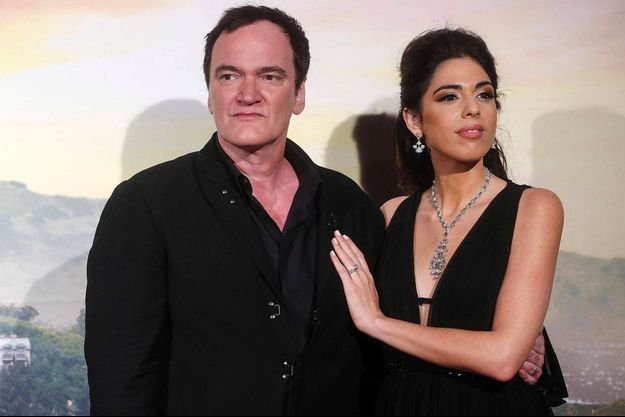 Quentin Tarantino et son épouse Danielle à Rome, en août 2019.
