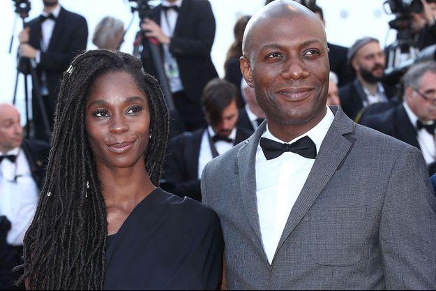 Chrislaine et Harry Roselmack, au festival de Cannes en mai 2018.