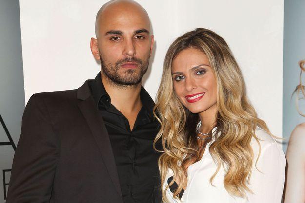 Clara Morgane avec son époux Jérémy Olivier en 2013.