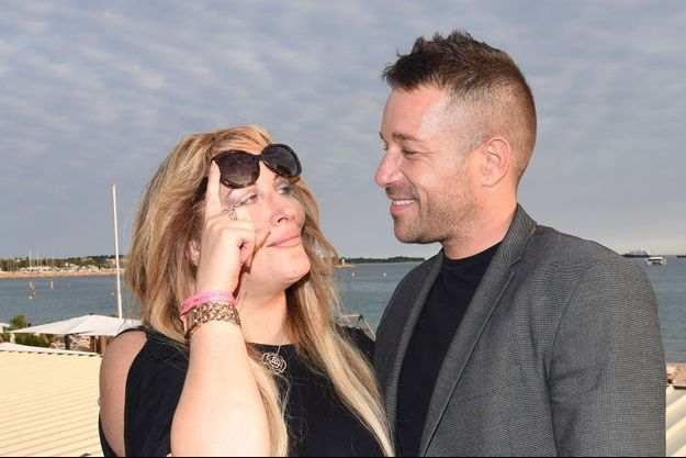 Loana et Phil Storm à Cannes en juin 2017.