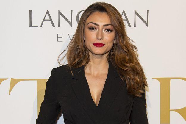 Rachel Legrain-Trapani lors de la Fashion Week à Paris, le 26 janvier 2018