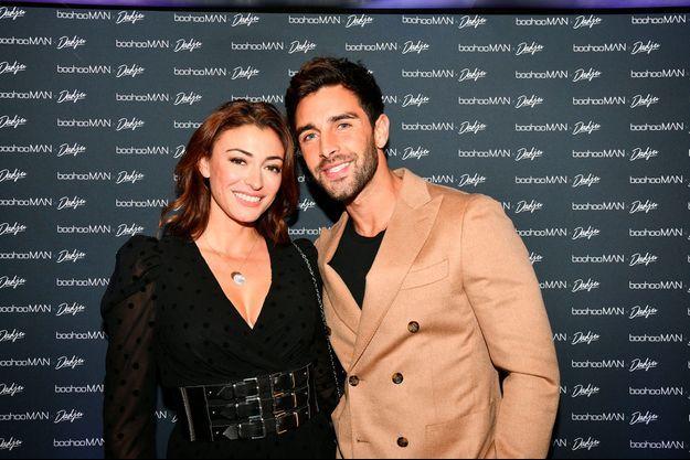 Rahcel legrain-Trapani et son compagnon Valentin Leonard à Paris en octobre 2019.