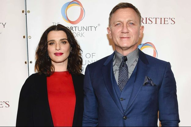 Rachel Weisz et Daniel Craig le 9 avril 2018