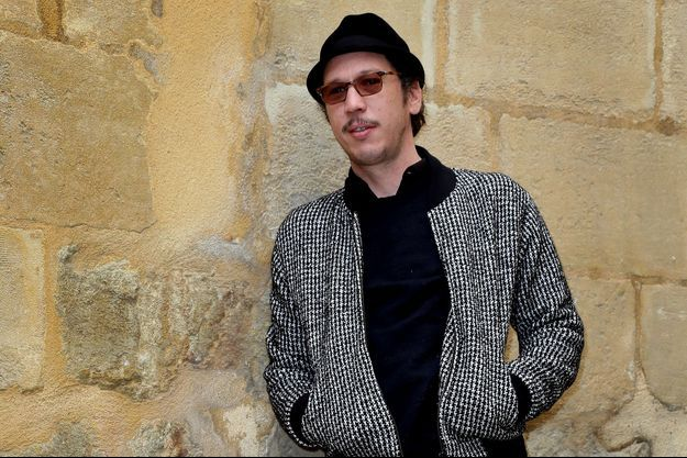 """L'acteur Reda Kateb pour son film """"Les derniers Parisiens"""", à Sarlat, le 11 novembre."""