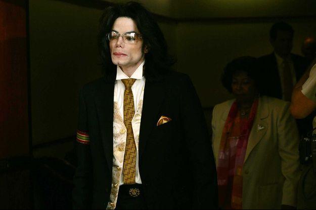 Michael Jackson en 2005.