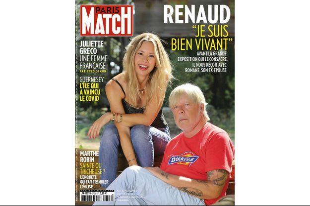 La couverture du numéro 3726 de Paris Match.