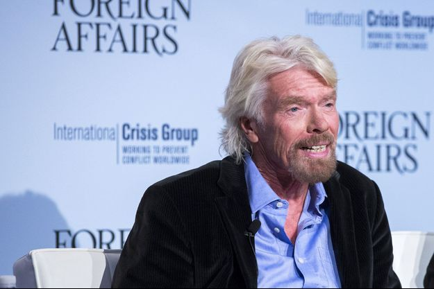 Richard Branson à New York en octobre 2015.