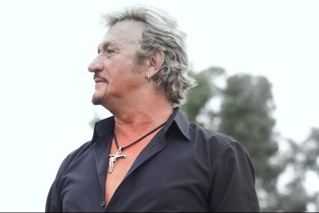 Richy, le sosie officiel de Johnny Hallyday.