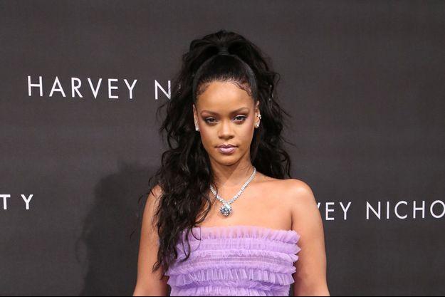 Rihanna à Londres, le 19 septembre 2017.